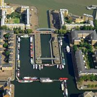 Greenland Dock Gate