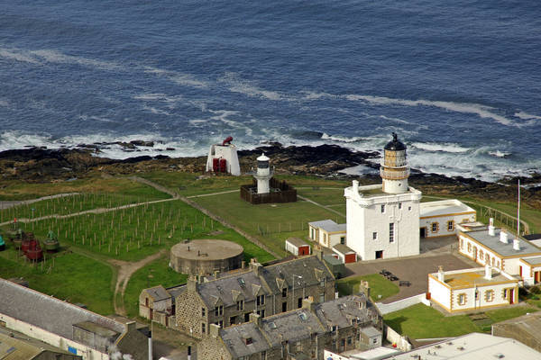 Kinnaird Head Light
