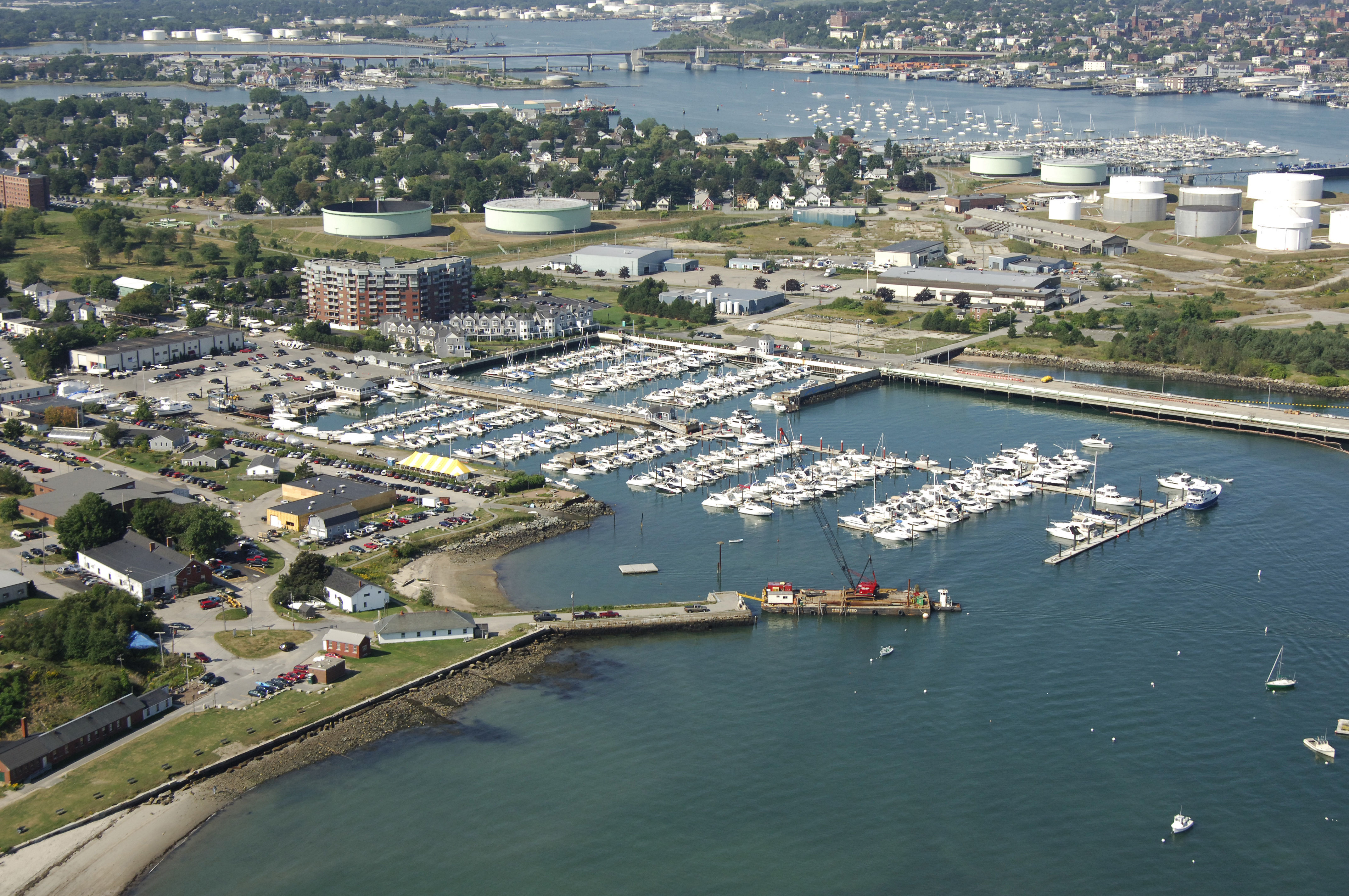 Spring Point Marina in South Portland ME United States Marina