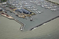 Bogense Marina and Harbor Inlet
