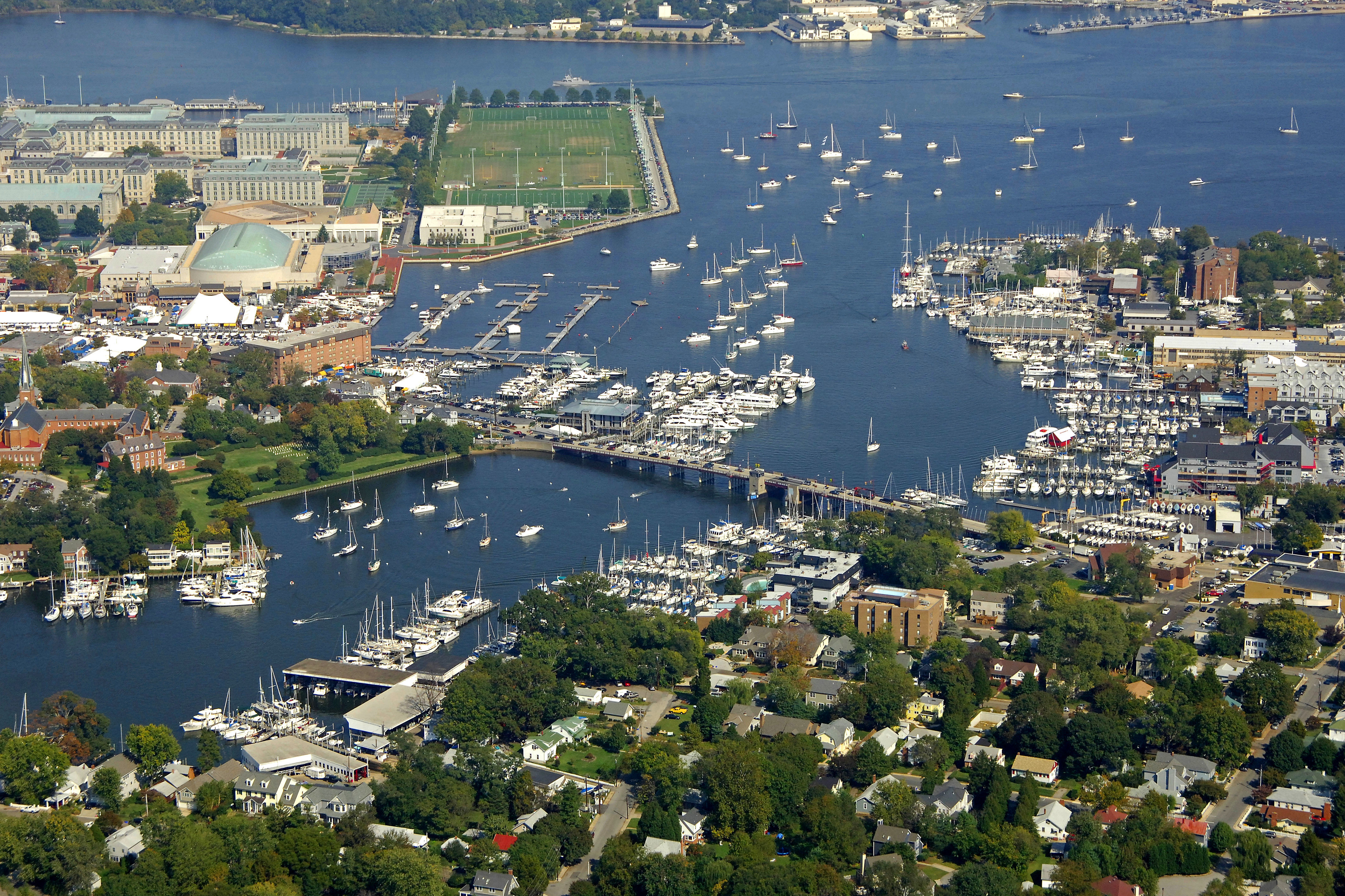 Annapolis Harbor in An...