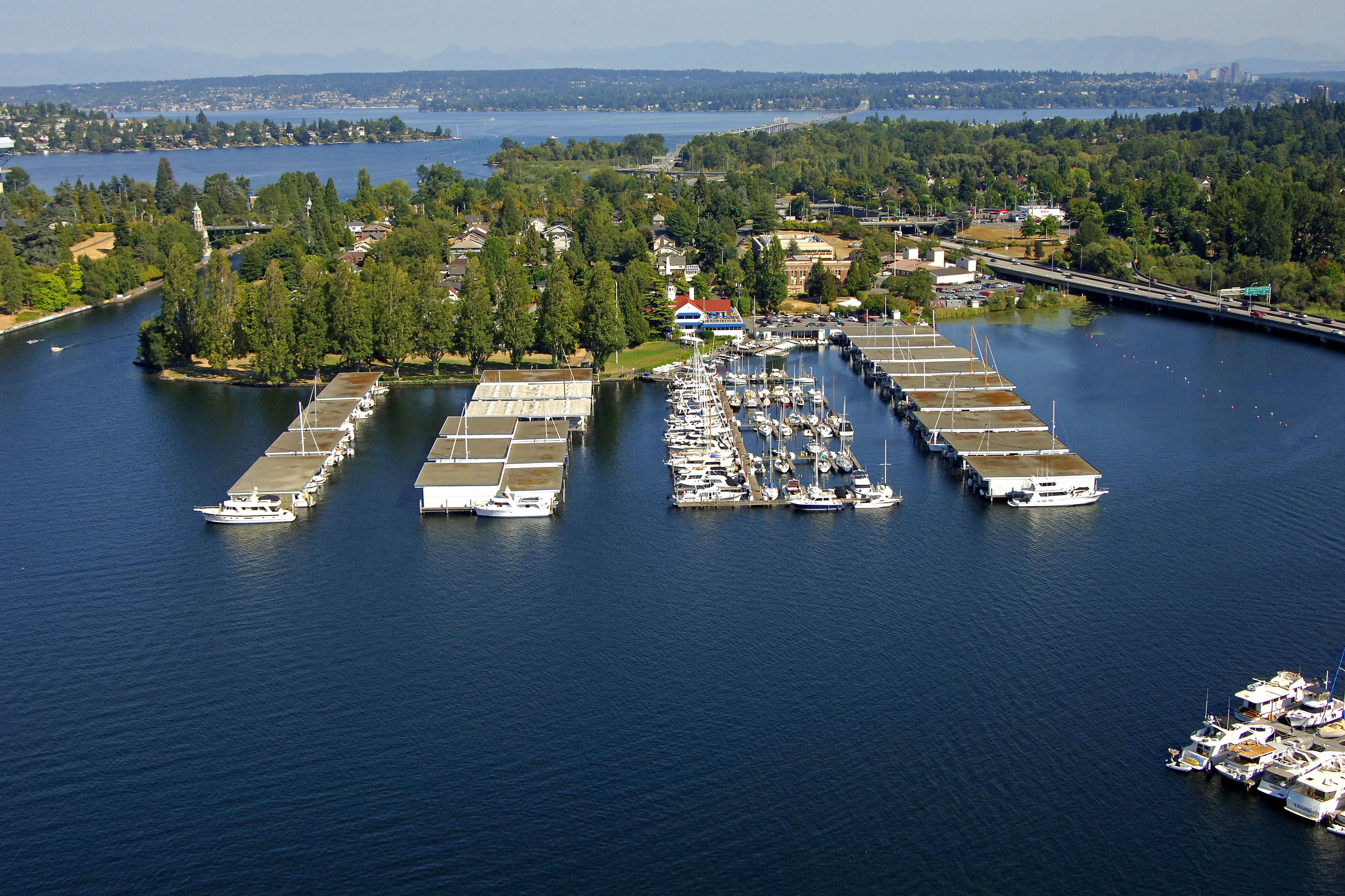Seattle Yacht Club in Seattle, WA, United States - Marina