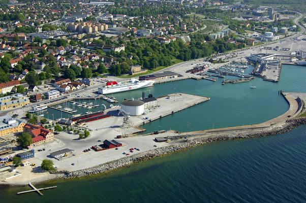 Visby Inre Hamnen Road Marina