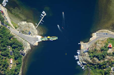 Strommarna Stora Gassholmen Ferry
