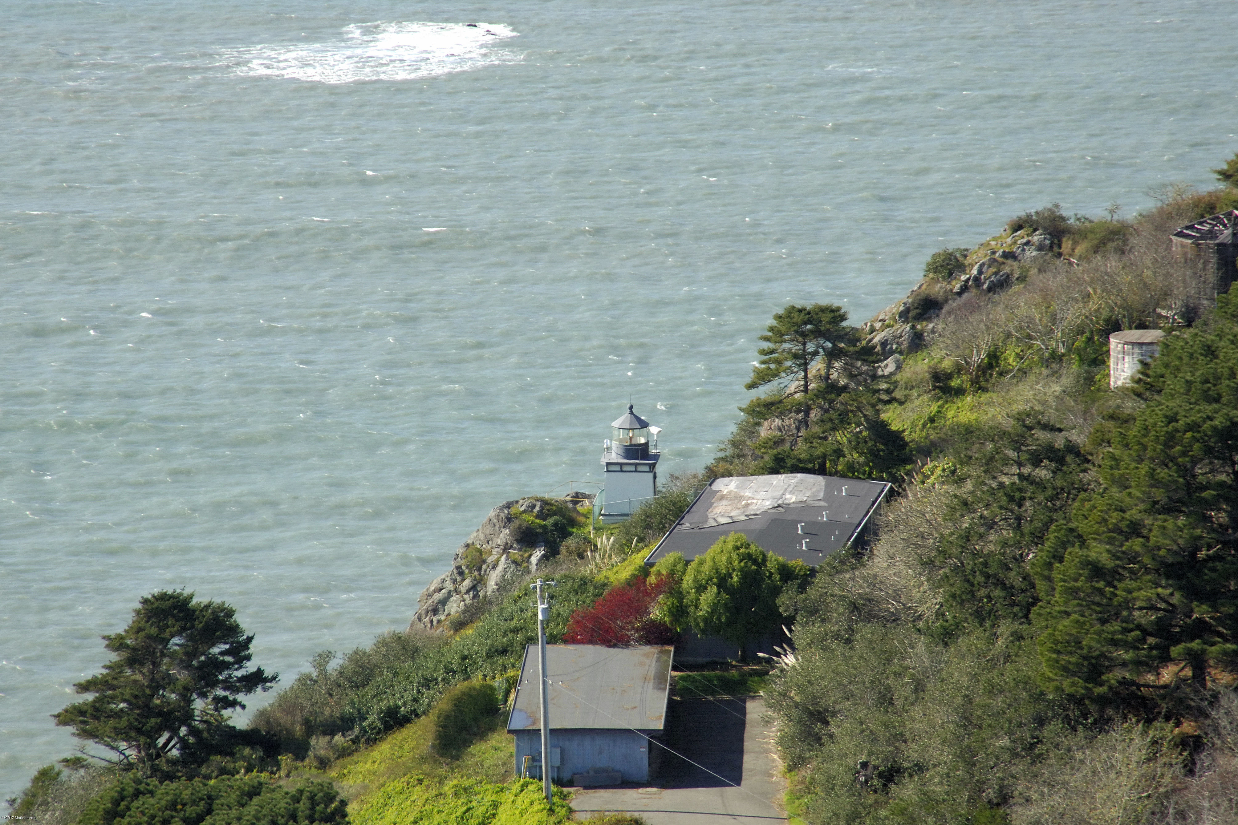 Trinidad Head Lighthouse in CA, United States - lighthouse