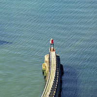 Whitby Pier New Lighthouse