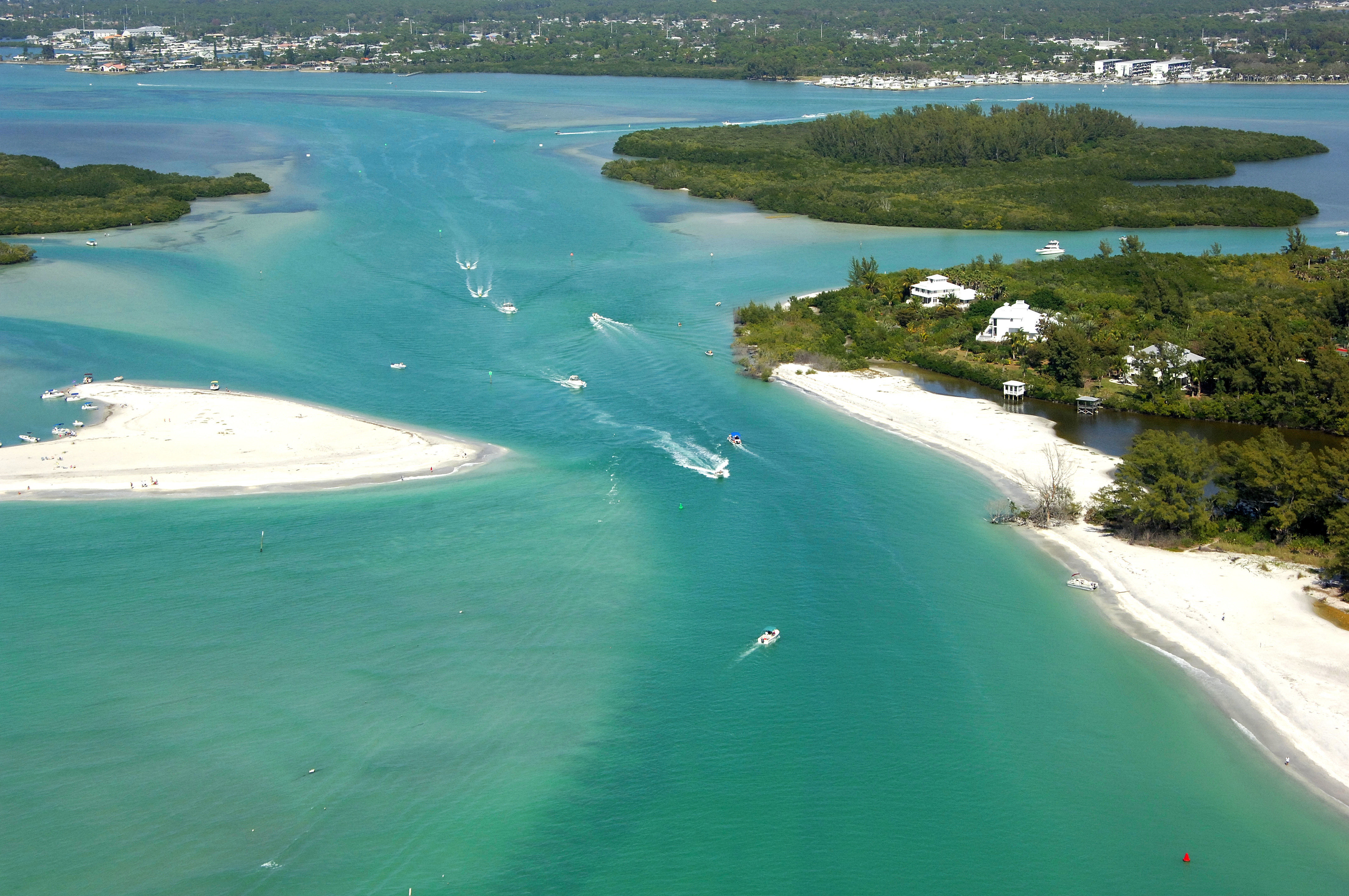 Stump Pass Inlet in Grove City, FL, United States - inlet ...