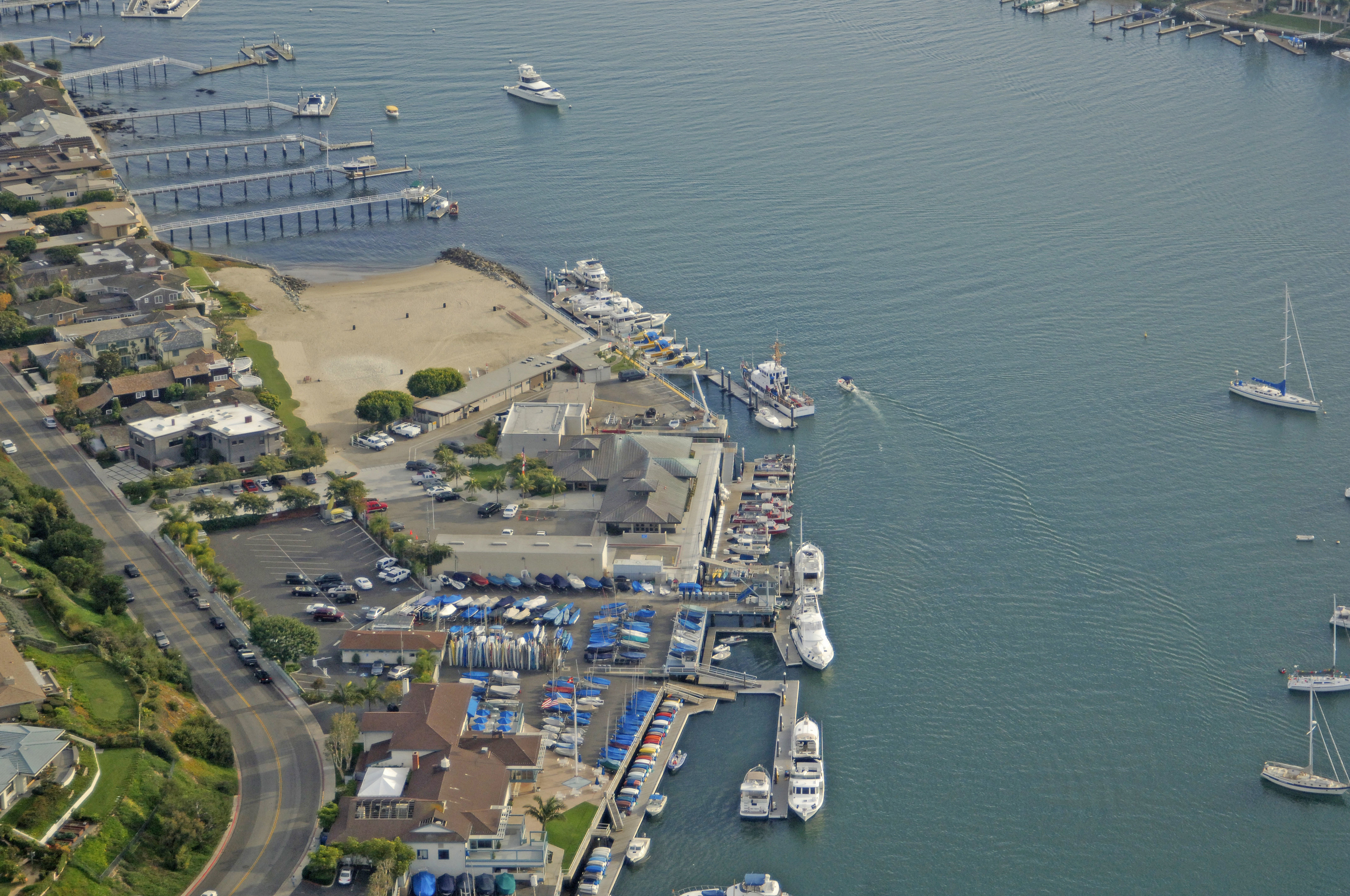 Newport Harbor Patrol Guest Dock In