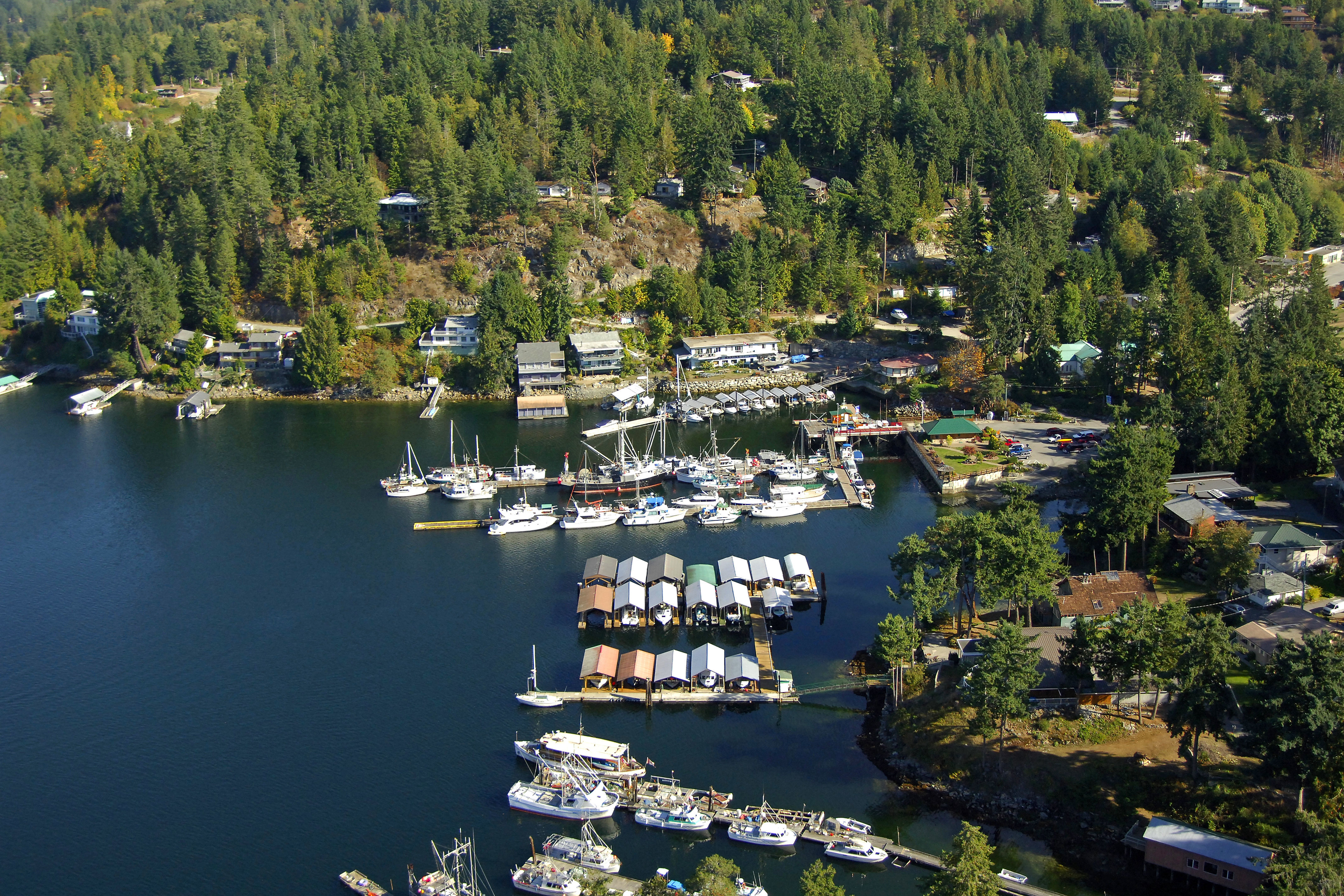 Harbour Authority Of Pender Harbour In Bc Canada Marina