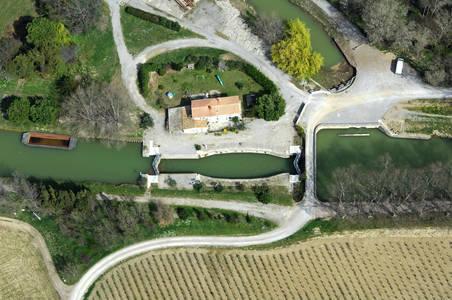 Canal De La Robine Lock