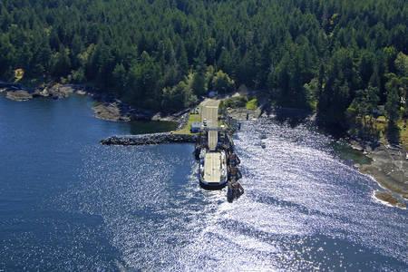 Denman Island East Ferry
