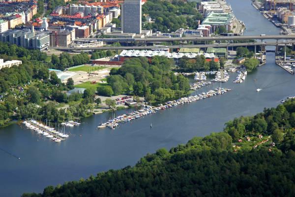 Hammarby Slussvaeg Road Marina