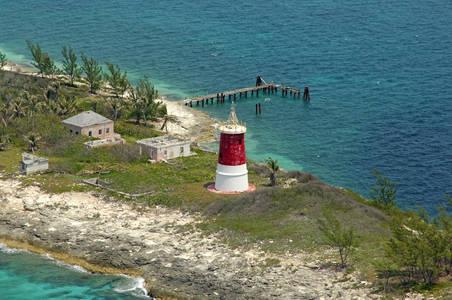 Gun Cay Light