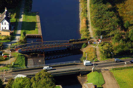 Banavie Swing Railroad Bridge