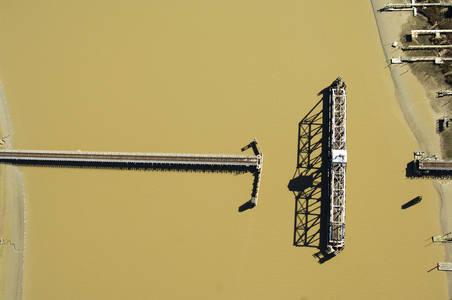 Northwest Power Railroad Swing Bridge