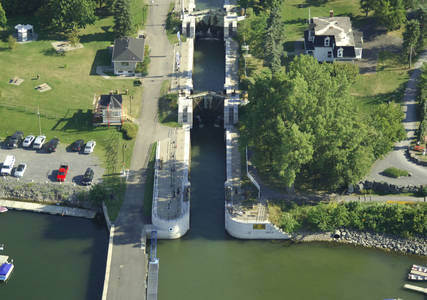 The Chambly Canal Lock