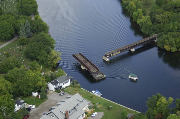 Trent Canal Canadian Pacific RailRoad Bridge