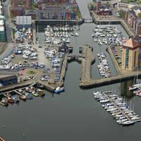 Swansea Marina Lock