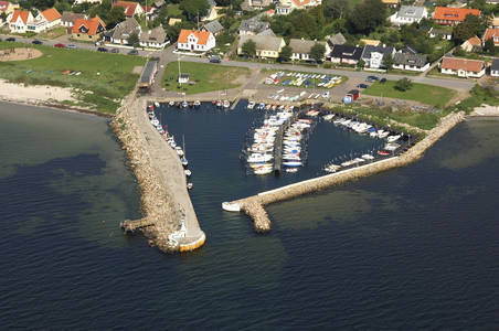 Leberget Harbor Inlet