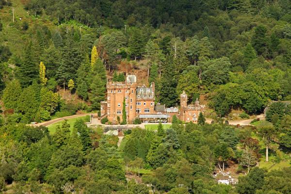 Glenborrodale Castle