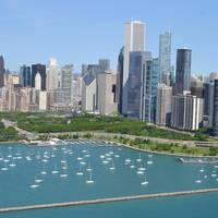 Monroe Harbor, the Chicago Harbors