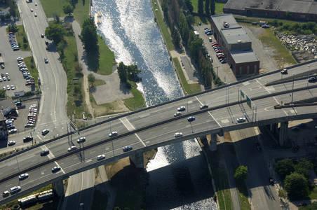 Chemin De La Cote St. Paul Bridge