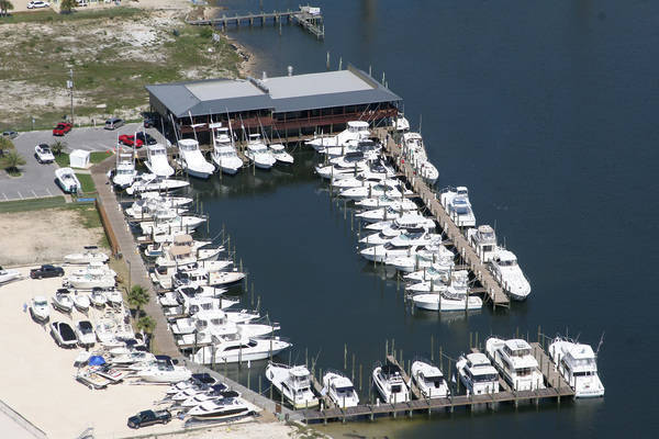 Perdido Key Oyster Bar Marina