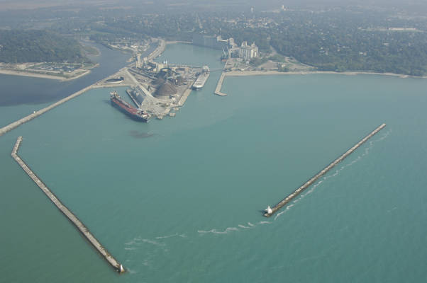Goderich Harbor Inlet