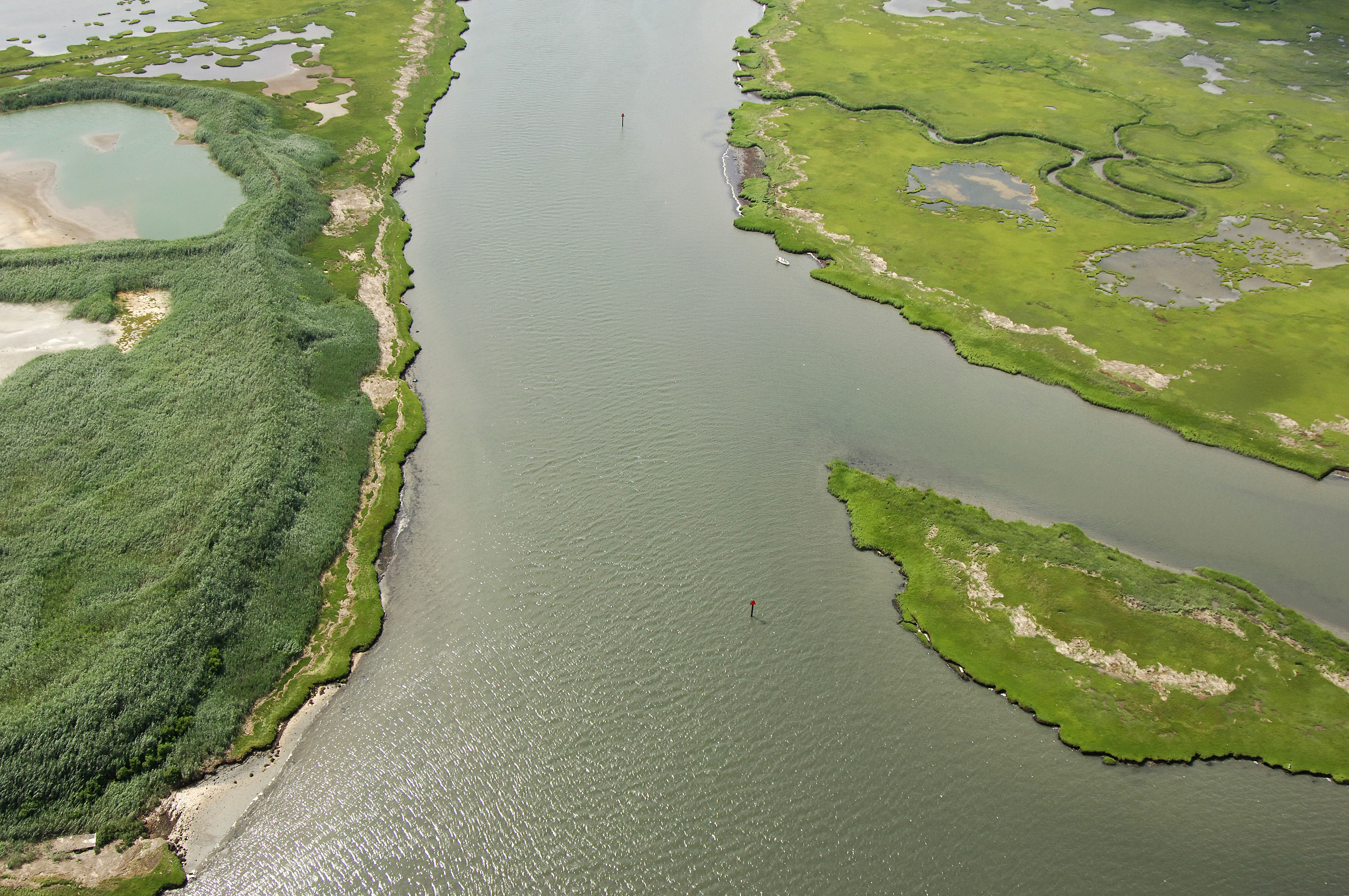 Ludlam Thorofare Inlet In Sea Isle City Nj United States Inlet
