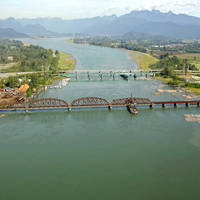 Pitt River Canadian Pacific Railway Bridge