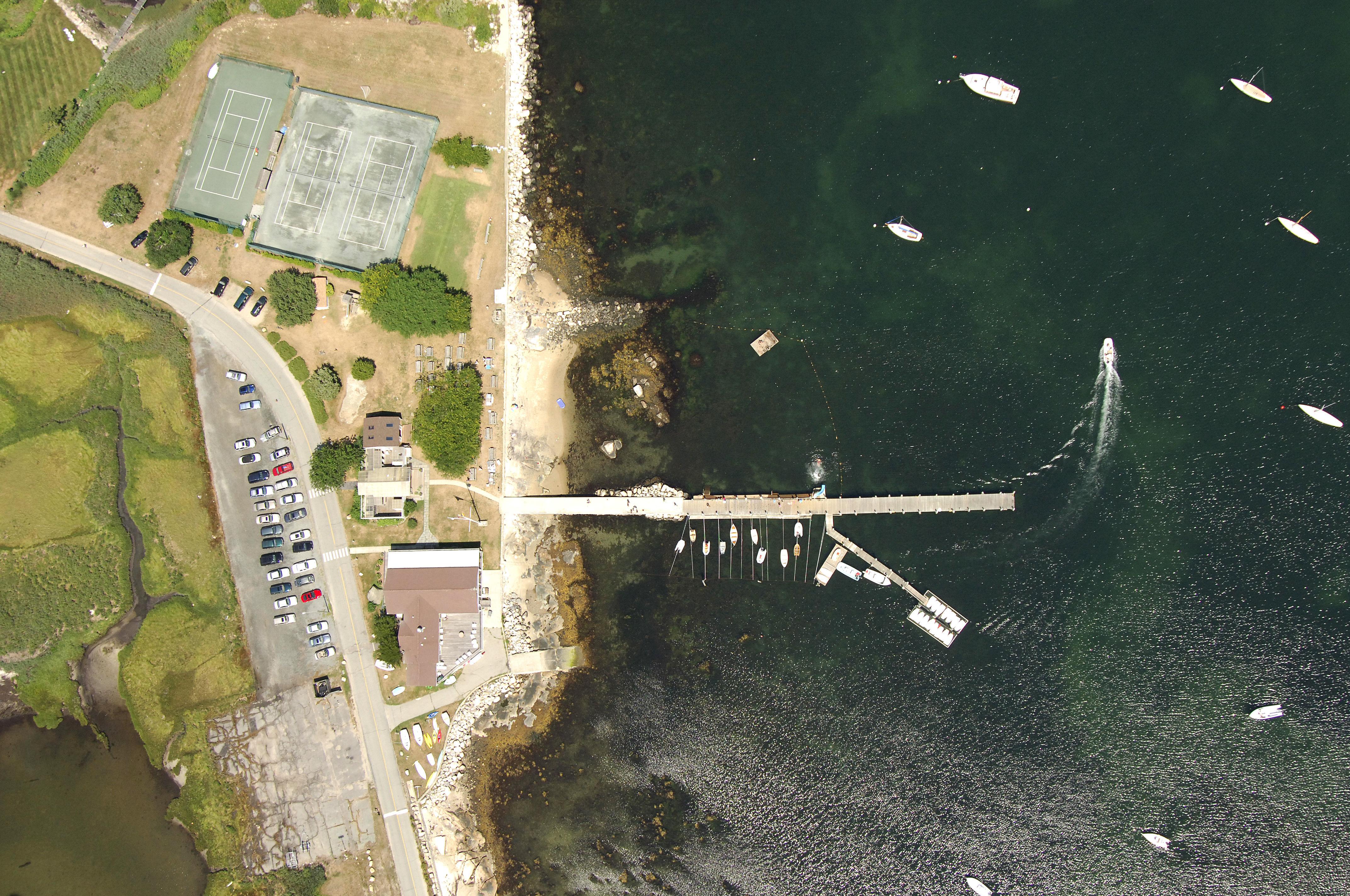 Mason U0026 39 S Island Yacht Club In Mystic  Ct  United States