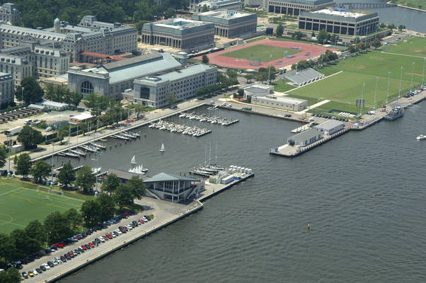 US Naval Academy - off limits to private vessels