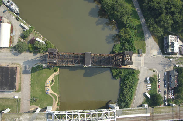 Cleveland RailRoad Lift Bridge 3