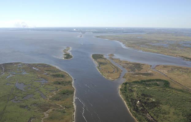 Sabine River Inlet