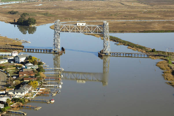 Napa River Railroad LIft Bridge