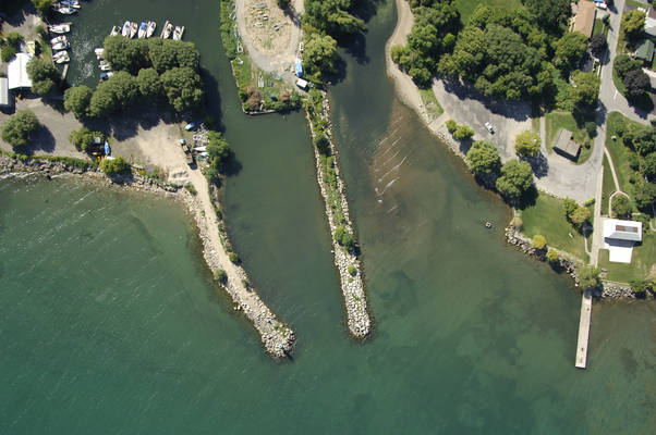 Grimsby Harbor Inlet