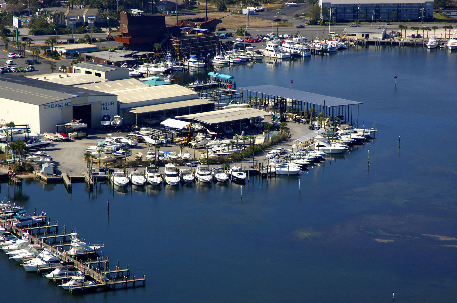Treasure Island Marina Slip Dock Mooring Reservations