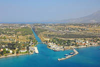 Korinthos Channel South Bridge