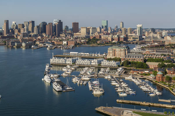 Charlestown Marina, Boston Harbor