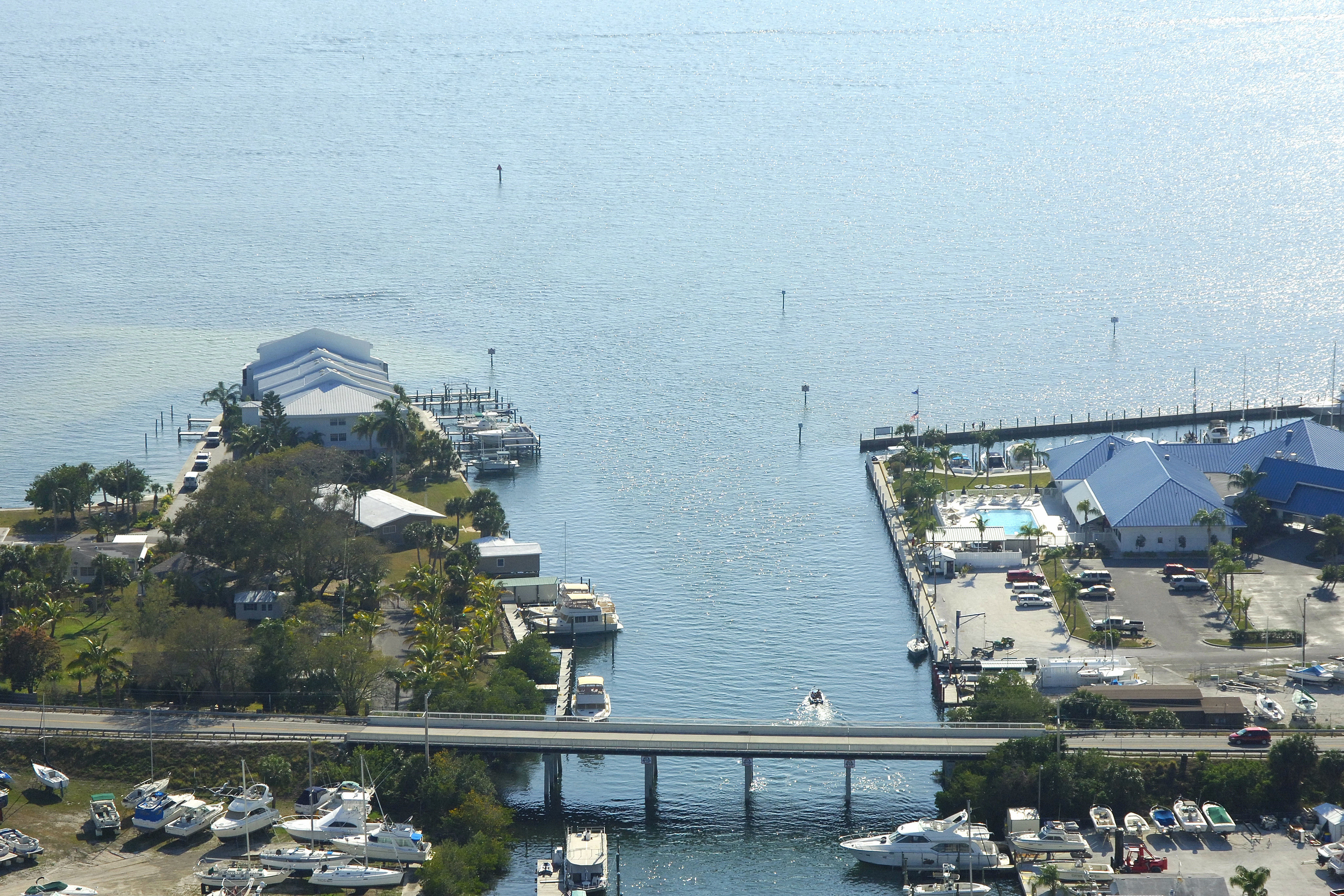 Manatee River Terra Ceia Bay Inlet In Palmetto Fl United States