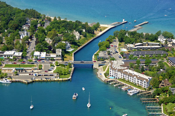 Charlevoix Lift Bridge