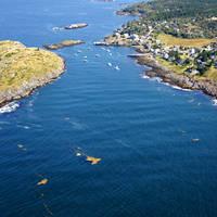Monhegan Island Harbor Inlet