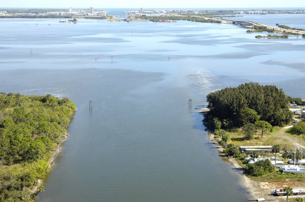 Canaveral Barge Canal East Inlet