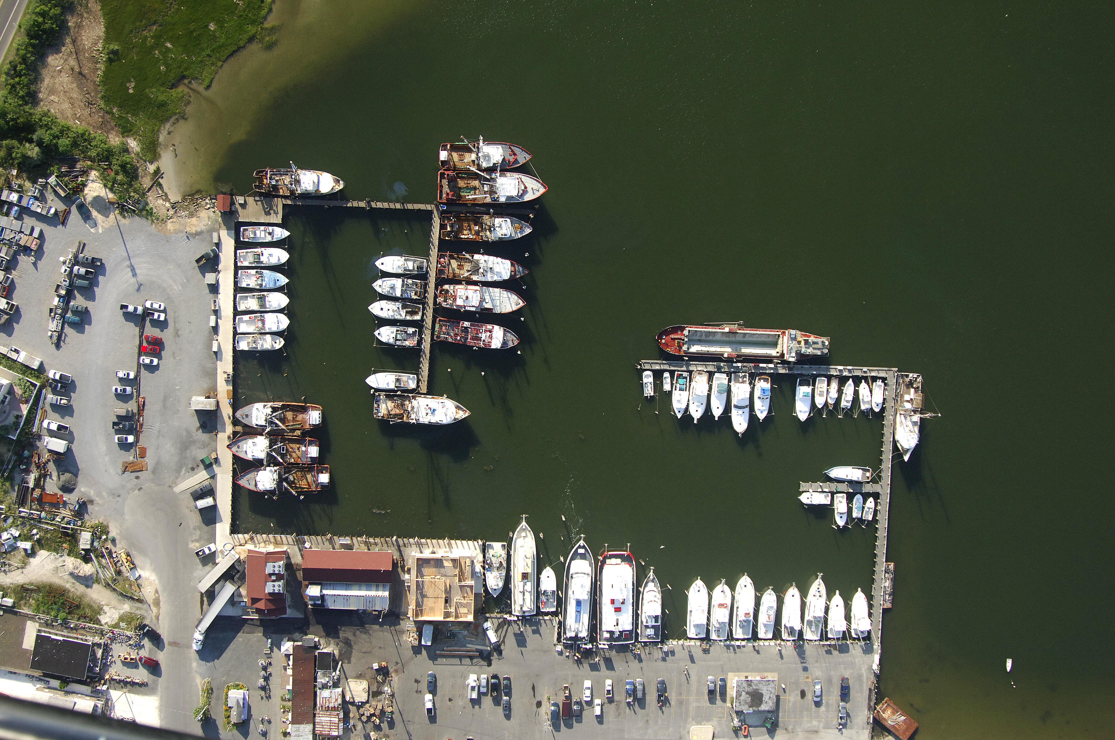Barnegat Light Yacht Basin in Barnegat Light NJ United States