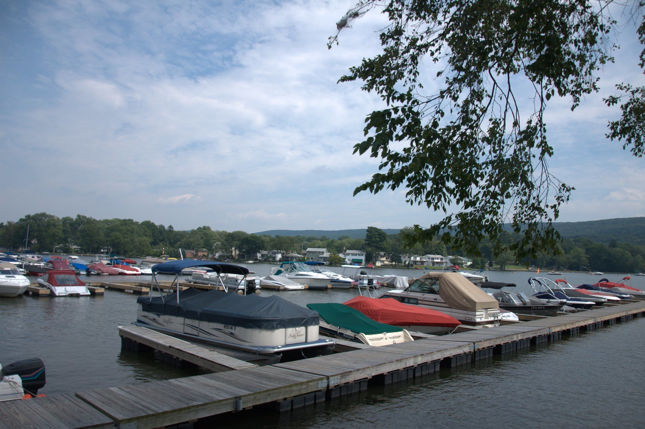 Willow Point Marina In Greenwood Lake Ny United States