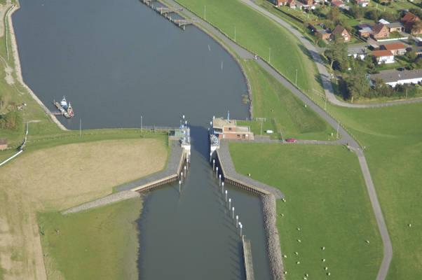 Friedrichskoog Lock