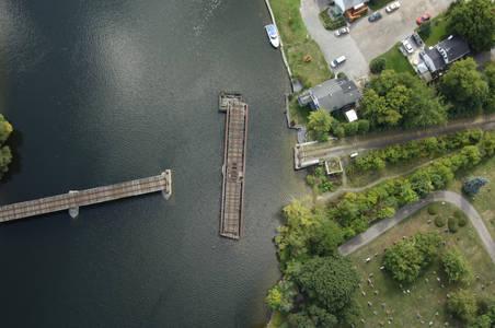 Trent Canal Canadian Pacific RailRoad Bridge
