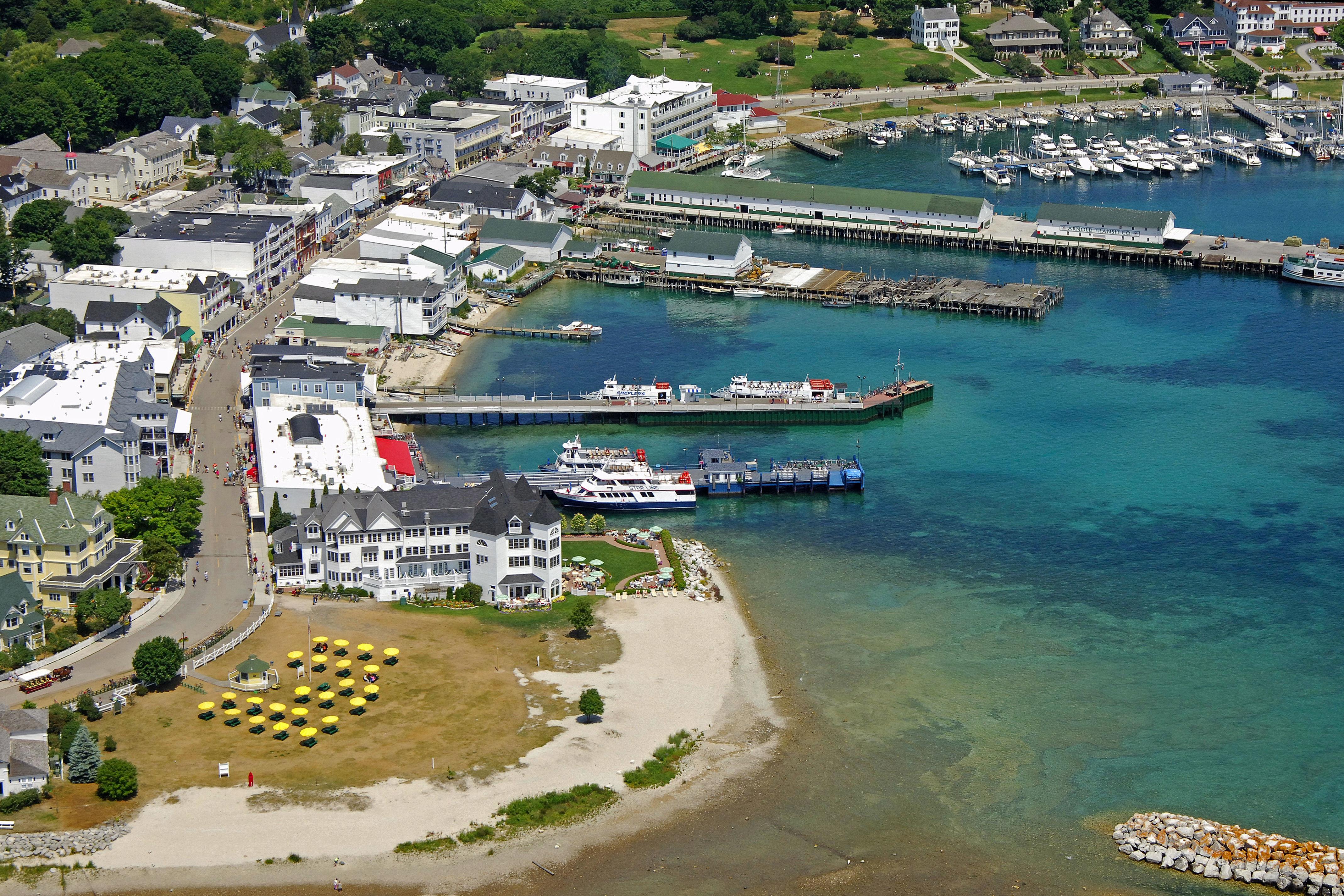Mackinac Island City Marina