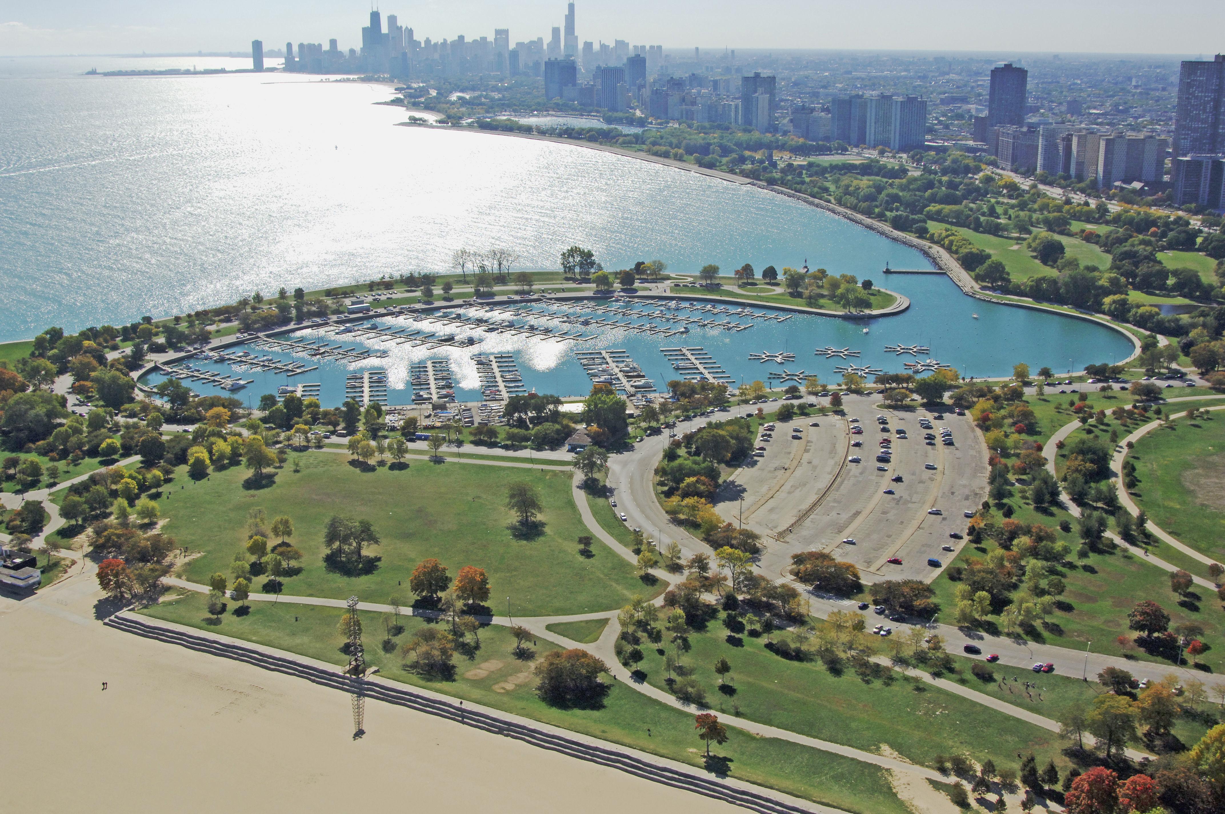 Montrose Harbor The Chicago Harbors