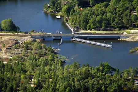 Köpmannebro Railway Bascule Bridge